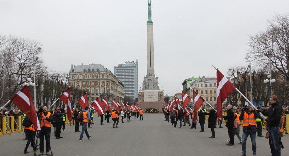 Waffen SS leģionāru un viņu piekritēju gājiens Rīgā