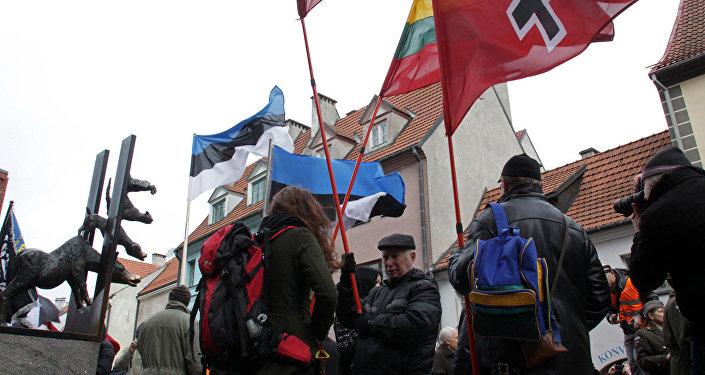 Нашествии эсэсовцев вРиге задержали противников марша